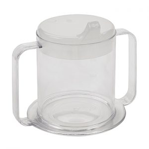 drive-medical-clear-2-handle-cup
